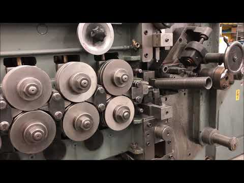 * STEINFELS KG * has for sale a HACK UFA16 spring coiling machine