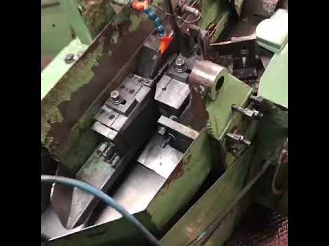 * STEINFELS KG * has for sale a SASPI GV3-20 flat die thread rolling machine