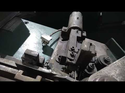* STEINFELS KG * has for sale a Grefe GW2-6 thread rolling machine for nails