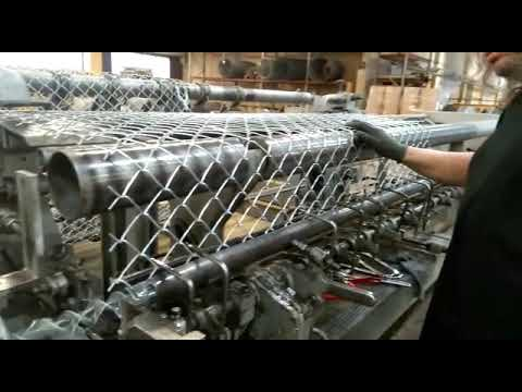 * STEINFELS KG * has for sale a Wafios VDF80 chain link fence machine