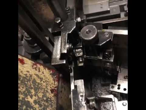 * STEINFELS KG * has for sale a SASPI GV5-40 flat die thread rolling machine