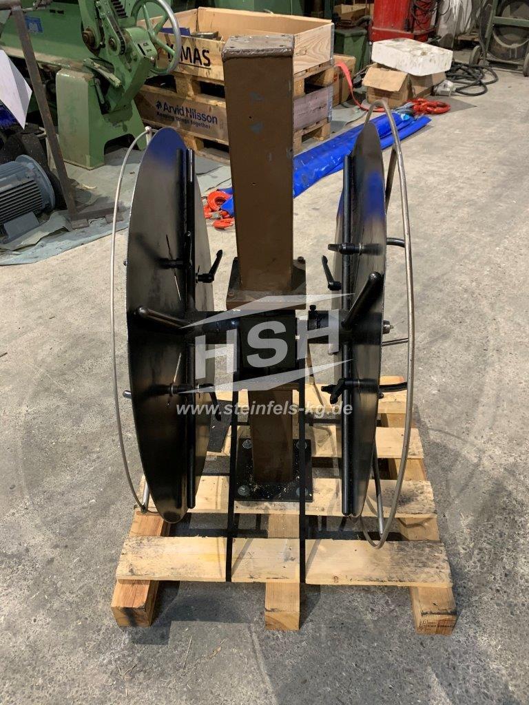 D02L/7830 – EIGENBAU – Doppelablaufhaspel – ohne Motor