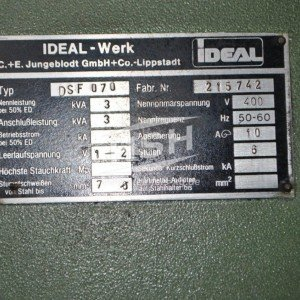 D50L/7701 – IDEAL – DSF070 – 1985 – 0,8-7 mm