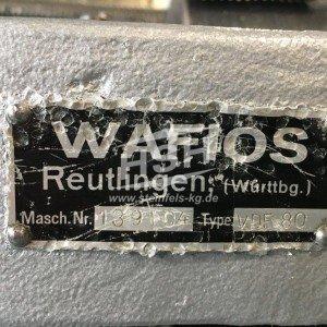D58L/7670 – WAFIOS – VDF80 – 1963 – 1,5-3,8 mm
