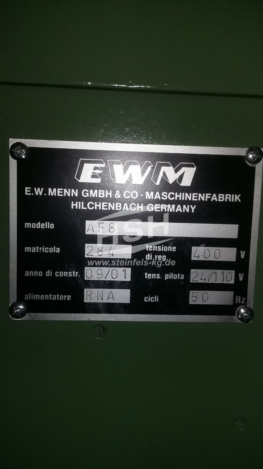 M14U/8289 – MENN – AF8 – 2001/2020 – 10 mm