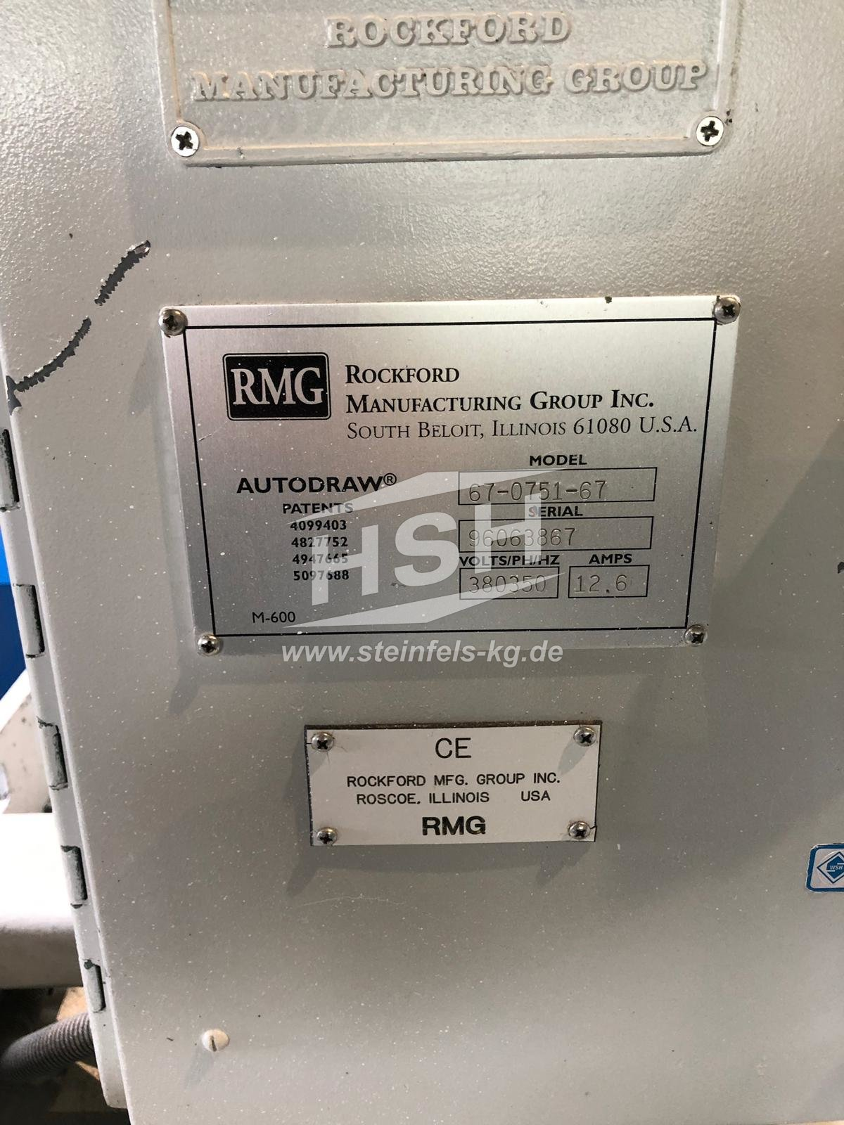 M38L/8167 – RMG – 67-0751-67 – 1996 – 11 mm