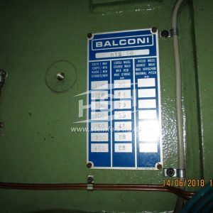 M46E/8156 — BALCONI — MT – 1998 – 50 to
